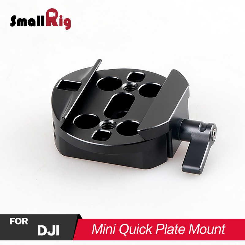 SMALLRIG DSLR מצלמה מיני מהיר צלחת הר לdji ללא מעצורים/רונין-M/רונין-MX Gimbal מייצב לצרף להתאים 1682
