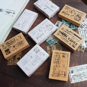 Moodtape винтажная деревянная прозрачная печать для DIY скрапбукинга/фотоальбома декоративная печать мерная открытка резиновая печать