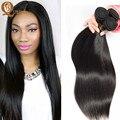8A maxglam ofertas bundle cabelo Brasileiro Virgem Cabelo liso Não Transformados Cabelo Humano, senhorita lula reta Virgem weavs cabelo online