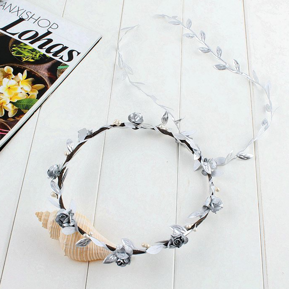 Girl's Accessories Apparel Accessories Dutiful Cute Flower Crown Kids Hair Accessory Festival Wedding Wreath Garland Crown Flower Piece Children Photography Tool