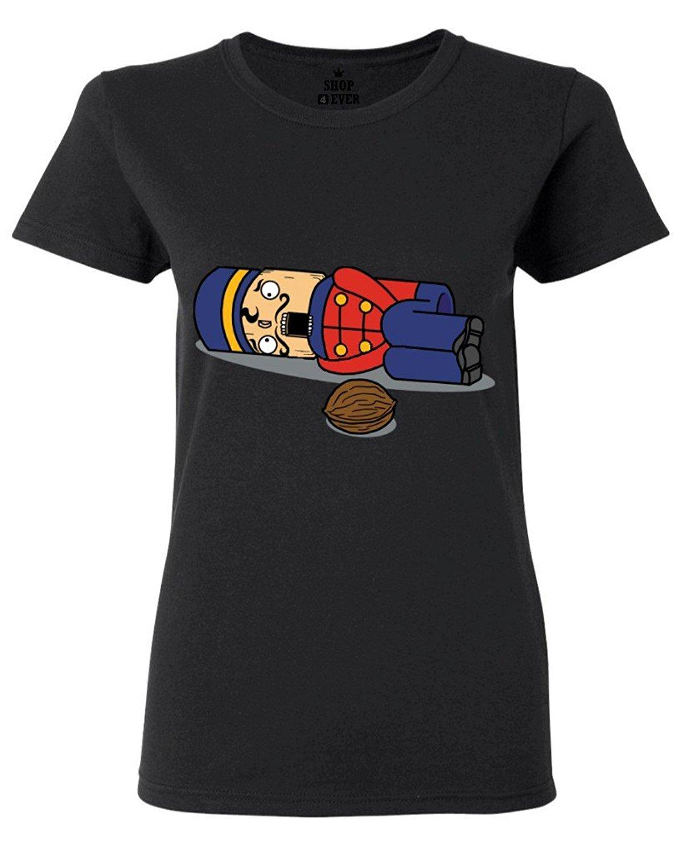 Damen Nussknacker Weihnachten T-Shirt