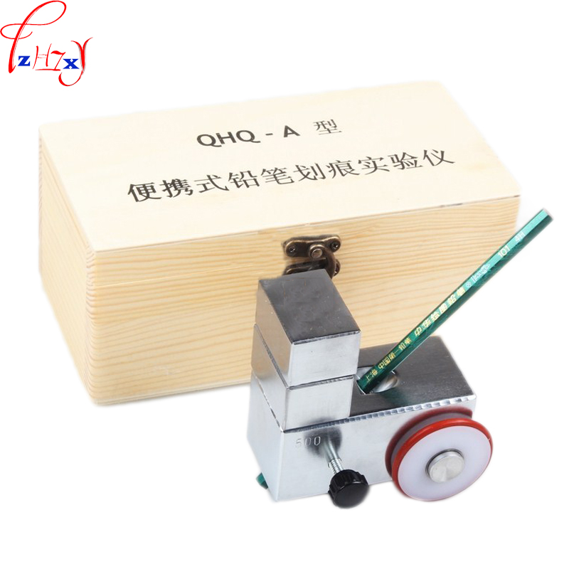 1pc QHQ-A pencil hardness tester small film coating hardness detection instrument paint hardness tester 1pc pencil hardness tester qhq a small film coating hardness detection instrument paint hardness tester