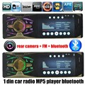 4.1 inch 1 DIN support rear camera TFT HD Screen Car radio Mp5 MP4 bluetooth Player Audio video TF/USB FM AUX 7 backgroud lights