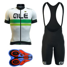 2018 Top Selling  Ale Cycling Jersey Men's Short Sleeve Bicycle Cycling Clothing Bike Wear Shirts Outdoor Maillot Ropa A15