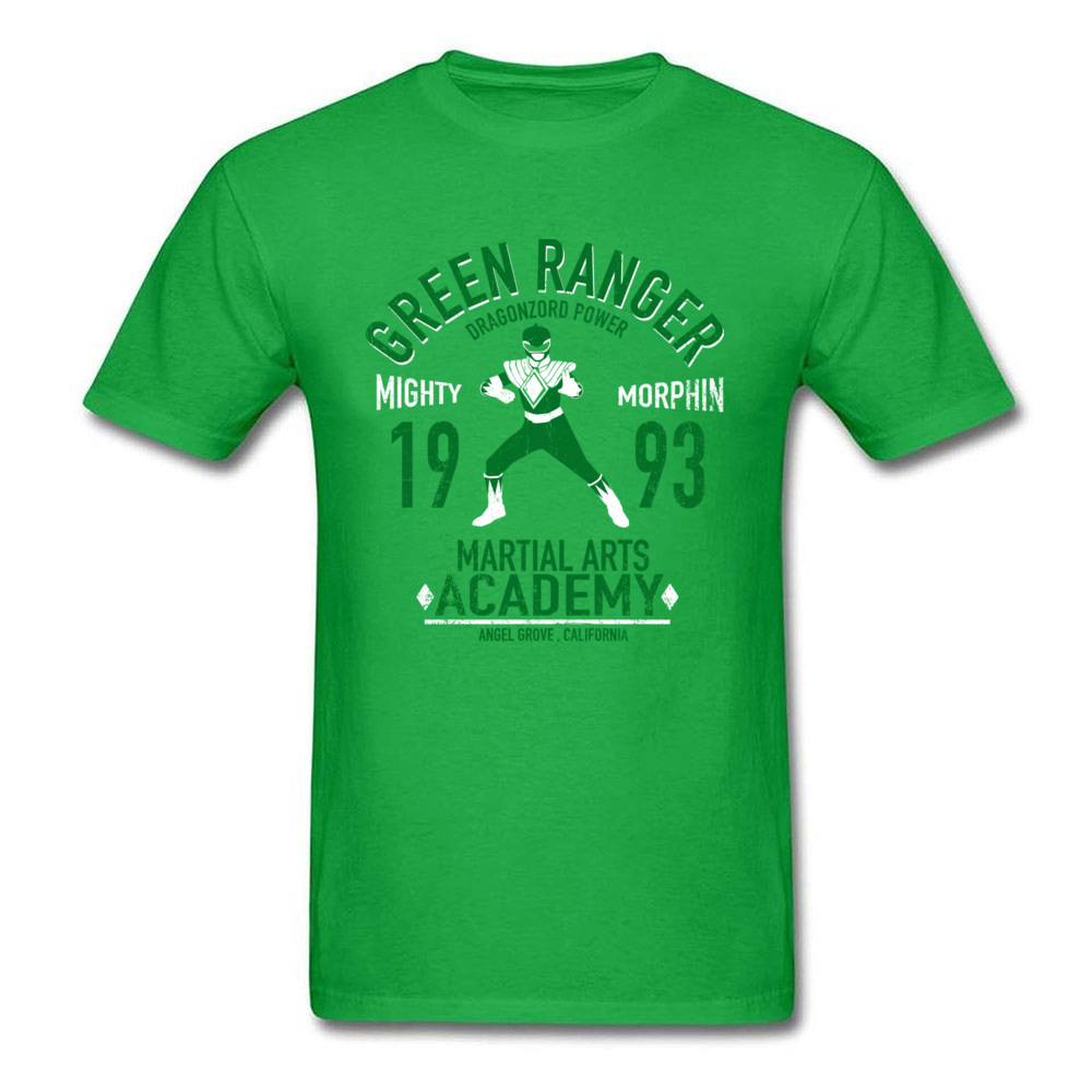 Dragon Ranger T Shirt Short Sleeve Customized Oversized Men`s Mother Day Tees Customized Tee Shirt Crewneck 100% Cotton Dragon Ranger green