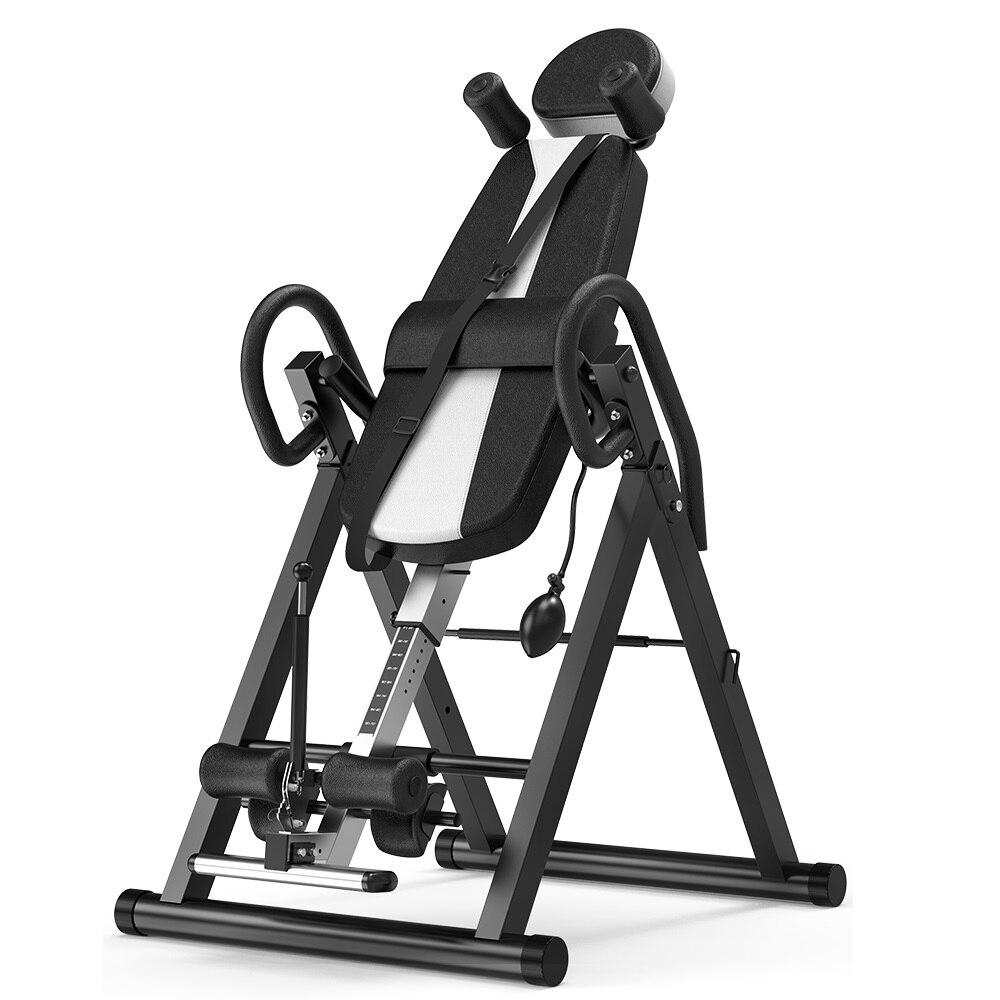 Ajustável handstand máquina mais segura corpo fitness building pro-círculo queixo acima do sistema de inversão de gravidade botas