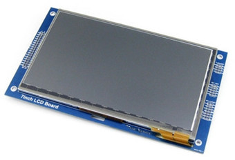 NoEnName_Null 7.0 inch 34P SPI LCD Capacitive Touch Module RA8875 Controller 800*480 I2C Interface