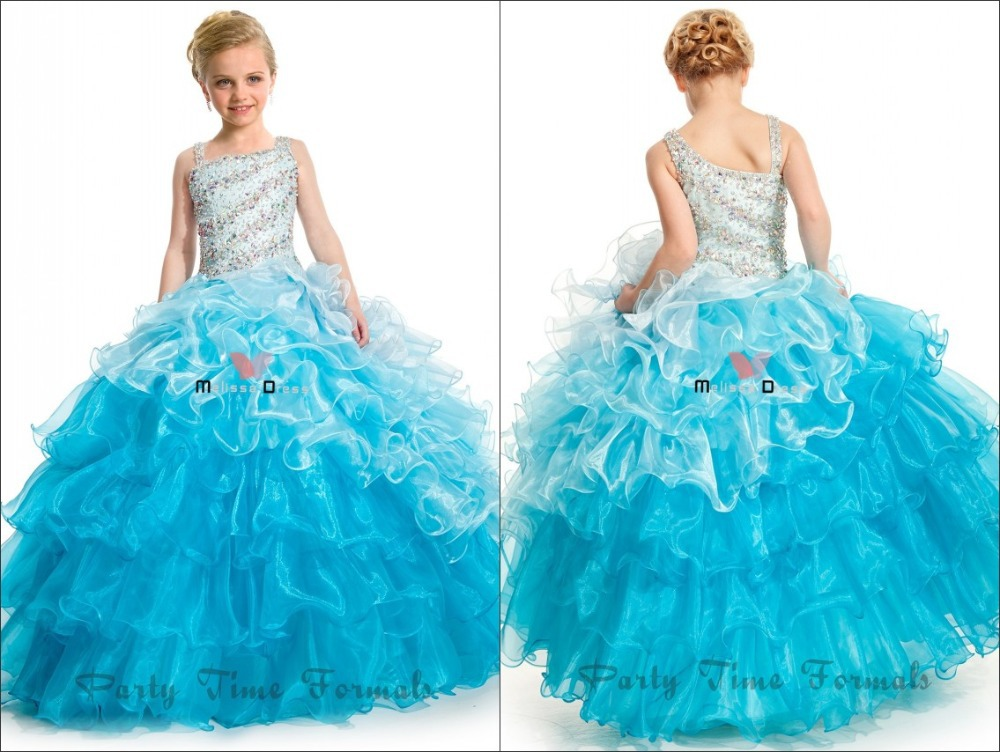 Wholesale Ball Gowns Light Purple Blue Pink Two Shoulder