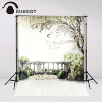 300x200cm 6 5ftx10ft Flowers Photo Background Trees Garden Loft Wedding Photography Backdrops Studio For Interior Photos