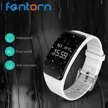 Fentorn 2017 A59 смарт-браслет Поддержка сердечного ритма Приборы для измерения артериального давления крови кислородом мониторинга смарт-браслет для IOS телефонах Android