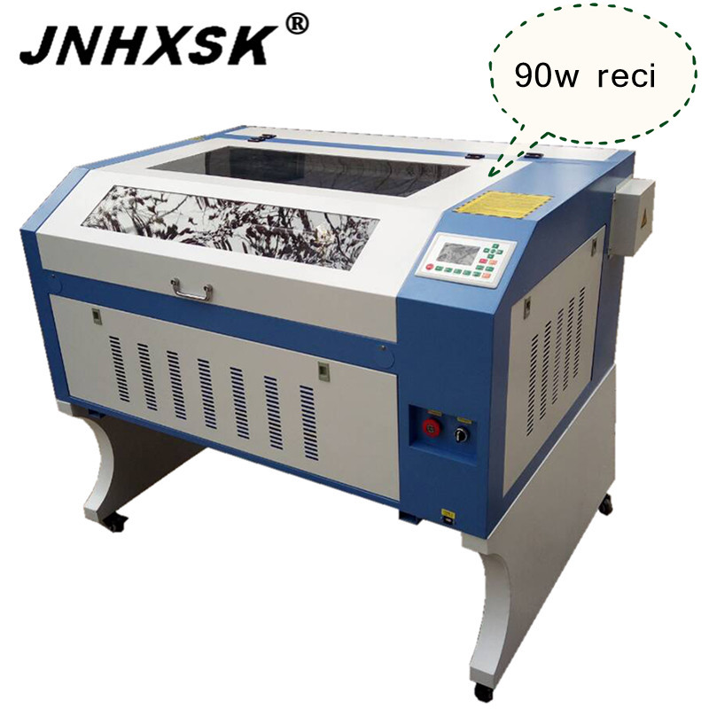 Acrylic Laser Engraving Cutting Machine 60W/80W/100W CE FDA RUIDA System Honeycomb Table Reci W2 100 W Co2 6090