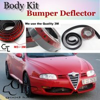 Bumper Lip Deflector Lips For Alfa Romeo GT AR 2003~Onwork Front Spoiler Skirt For TOPGEAR Friends Car Tuning / Body Kit / Strip