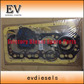 For Kobelco Excavator K4M full gasket set / Cylinder head gasket kit / engine gasket