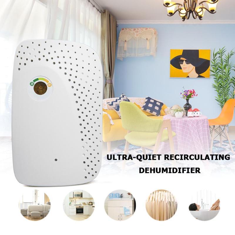 20W 150ml Electric Mini Dehumidifier Portable Ultra Quiet Desiccant Dehumidifier Air Dryer Moisture Benzene Formaldehyde Remover the wardrobe desiccant dehumidifier to remove odor