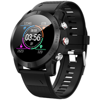 DT NO.I S10 Smart Watch 1.3 Inch Waterproof Heart Rate Monitor Step Count Sedentary Reminder IP68 350mAh Built In Smart Watch