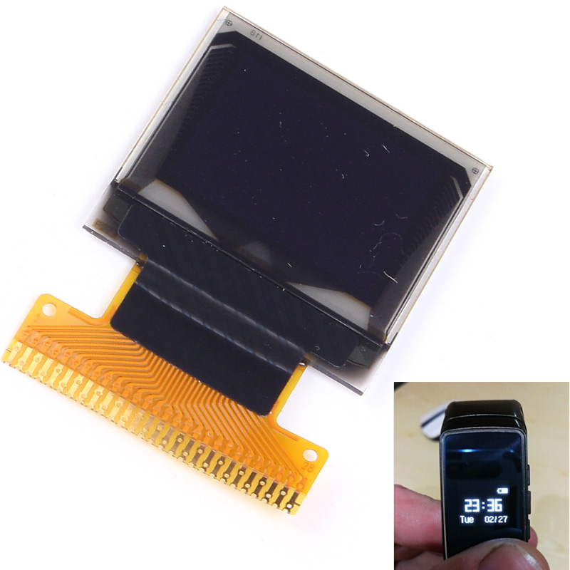 White 0.66 inch OLED Display Module 64x48 0.66 LCD Screen SSD1306 for Arduino AVR STM32 LCD Module