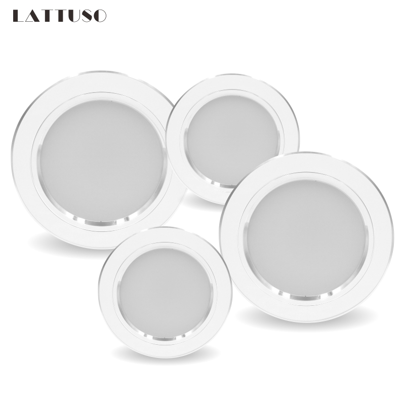Led Downlight 5W 9W 12W 15W 18W AC 220V 230V 240V LED Ceiling Bathroom Lamps Living Room Light Home Indoor Lighting