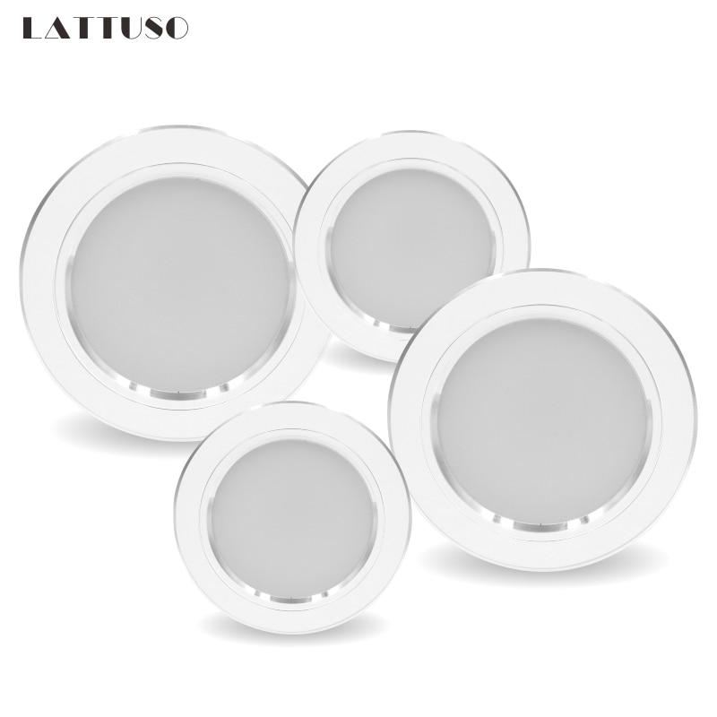 Led Downlight 5W 9W 12W 15W 18W AC 220V 230V 240V LED Ceiling Bathroom Lamps Living Room Light Home Indoor Lighting