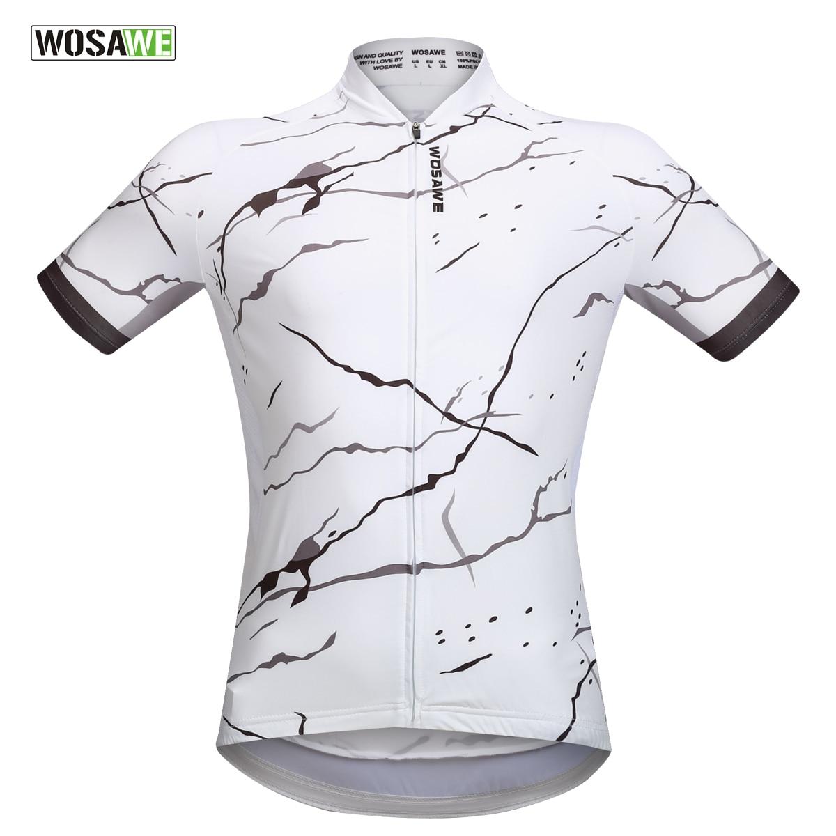 WOSAWE Ciclismo Jersey Manga Curta Bicicleta Roupas para Homens Roupas Ropa  ciclismo Ciclismo Desgaste Do Verão 44f77a18afe64