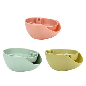 Image 3 - Convenience Double Layer Snacks Nuts Storage Box Garbage Holder Plate Dish Organizer Plastic Dry Fruit Containers