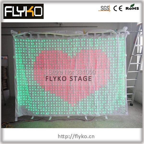 2 x 3 м р70 из светодиодов стена для сцена экран фон