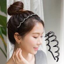 Женская повязка на голову с кристаллами