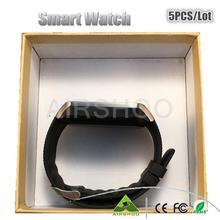 5 stück bluetooth SmartWatch d& z09 android Gesundheit montre connecter schrittzähler Kamera Männer frauen smartwach unterstützt sim-karte pk u8 gt08