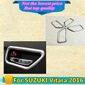 Alta Calidad car styling cubierta proteger detector palos recorta ABS puerta chrome cubierta de la manija bol 4 unids interior construido para SUZUK1 Vitara 2016