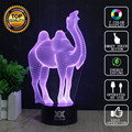 HUI YUAN Brand USB 3D Lamp Visual illusion Novelty Night Light Animal Owl Holiday Lights Glowing Children Christmas Gift