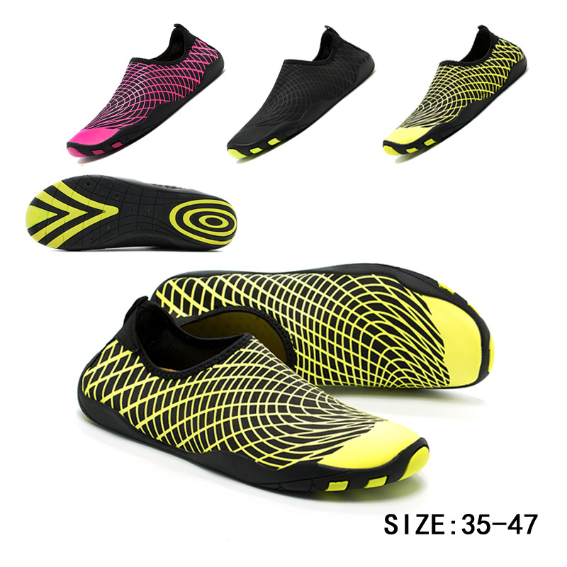 Outdoors Upstream Beach Shoes man Quick-drying Wading Swimming Shoes Comfortable summer Aqua shoes Lightweight Female Sneakers