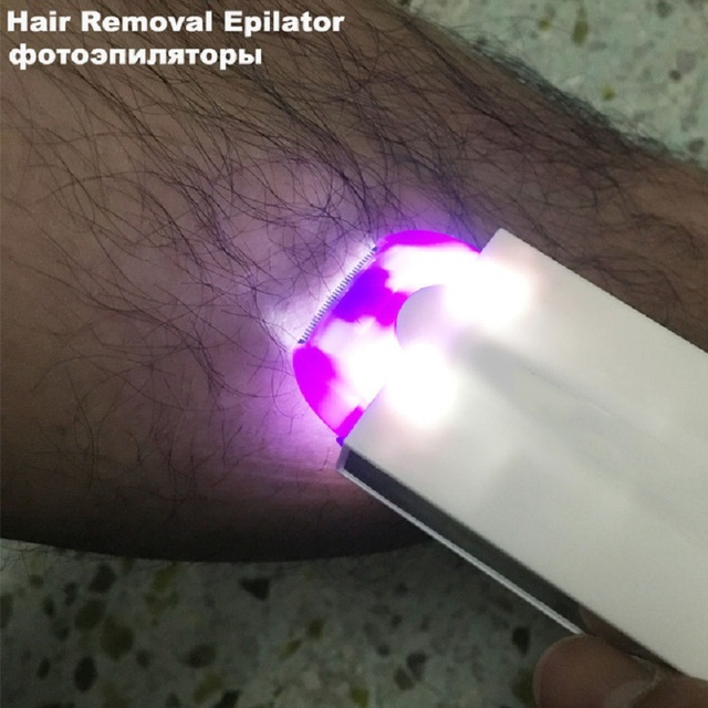 Photo Epilator Hair Removal Epilator Women Shaver Razor Depilador A Laser Shaving Lluminage Me Chic Permanent Z56