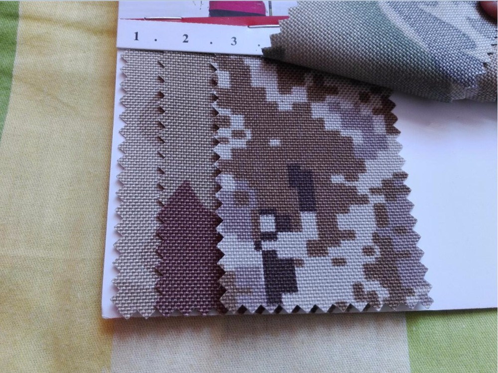 1000D Super Stong And Thick Cordura Camouflage Nylon Fabric, PU Coating Oxford Cloth, Outdoor A-TACS Nylon Fabric