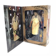 "NECA 7 ""18 cm The Texas Chainsaw MASSACRE PVC Action Figure Collectible Modelo Toy(China)"