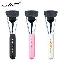 1 PC Retail Flat Contour Bronzer Кисть для макияжа Синтетические волосы Белый Черный Розовый