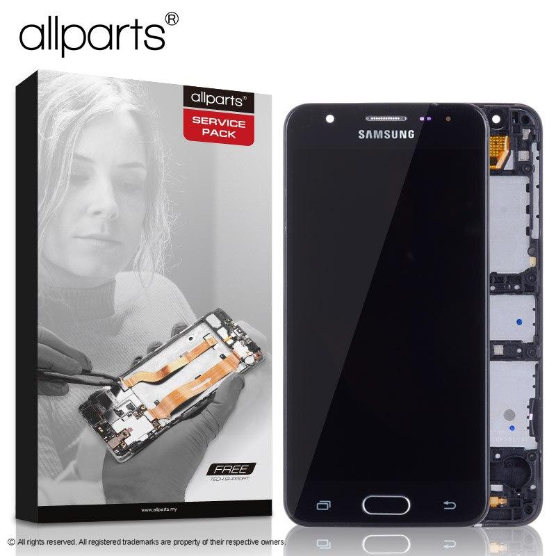 5,0'' NUEVO Original pantalla para SAMSUNG j5 prime LCD Tactil Completa Display táctil Écran para SAMSUNG j5 prime G570F G570 SM-G570F pantalla LCD con marco Digitalizador reemplazo Negro Dorado Blanco