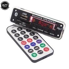 Распродажа! Bluetooth 5,0 5 в 12 В MP3 плеер WMA декодер доска аудио модуль USB SD AUX FM аудио радио плеер модуль для автомобиля аксессуары