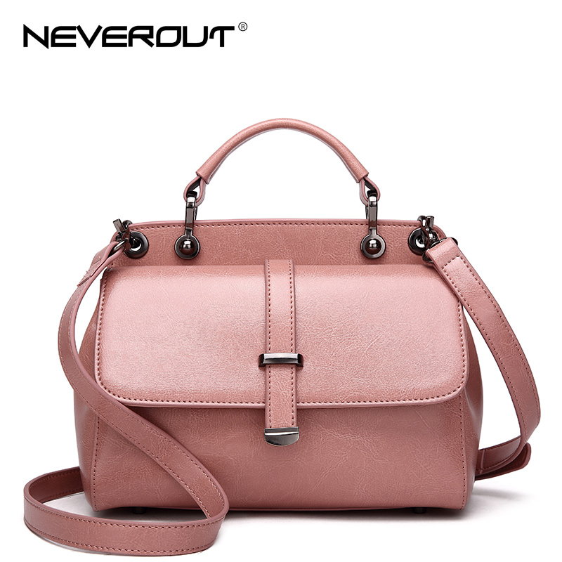 NeverOut 2018 Summer Women Bag Split Leather Messenger Bags Solid Bags for Women Small Shoulder Sac Crossbody Travel Vintage Bag 2017 summer metal ring women s messenger bags solid scrub leather women shoulder bag small flap bag casual girl crossbody bags