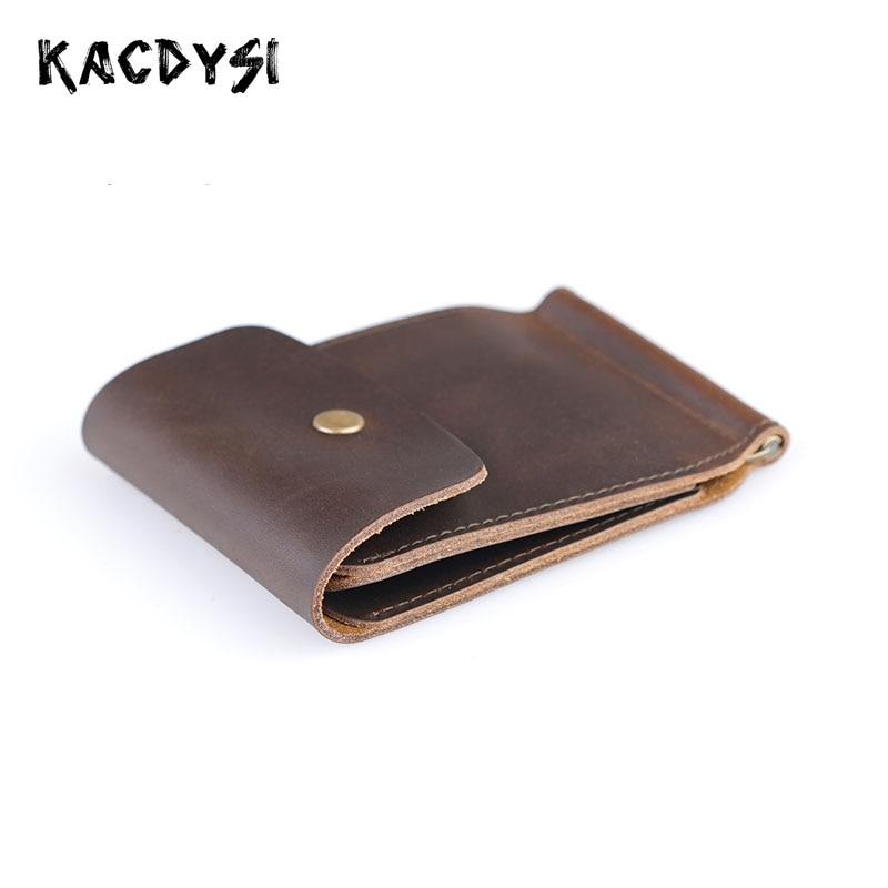 NUOVO PORTAFOGLIO PELLE borsa portamonete portafogli Leather Wallet uomo donna
