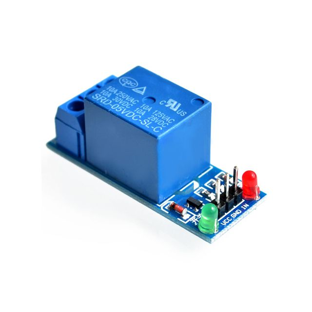 1 Channel 5V Relay Module Low level for SCM Household Appliance Control