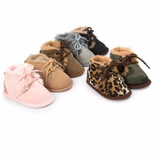 2017 Winter Baby Boys Girls Keep Warm Shoes First Walkers Sneakers Kids Crib Bebe Infant Toddler Footwear Solid Boots Prewalkers