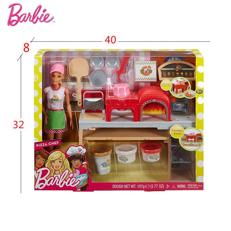 Neue Original Barbie Puppe Pizza, Der Spaß Puppen Die Girlbrinquedos Geschenk Boneca GirlsToys Baby Puppe Mädchen Spielzeug für Kinder Kinder-in Puppen aus Spielzeug und Hobbys bei  Gruppe 2