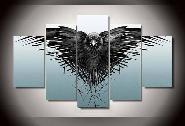 Game Of Thrones Wall Art aliexpress : buy no framed printed game of thrones season