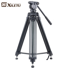 Xiletu XA193M Professional Radio Television Tripod&Panoramic Head Hydraulic Fluid Damping Herad For camcorder Video Camera