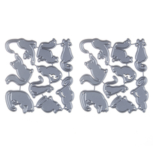 Cats Metal Cutting Dies for Card Making