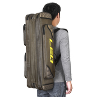 3 Layer Fishing Rod Bag For Fishing Pole Tools Storage Bag Backpack For Fishing Rod Cover Gear Tackle Bag Case 80cm/90cm