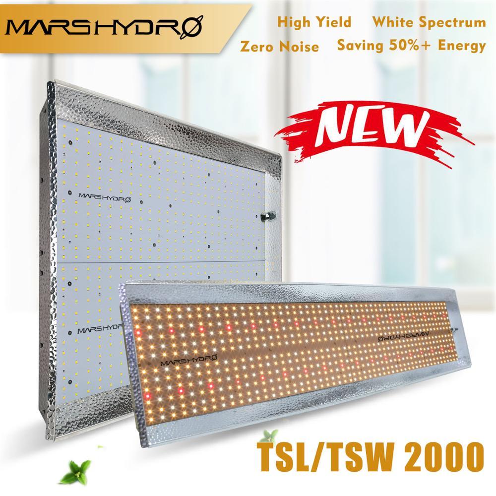 Mars Hydro TS 2000W Quantum Bordo LED Luci a intensità Spettro Completo Dell'interno di Coltura Idroponica Kit