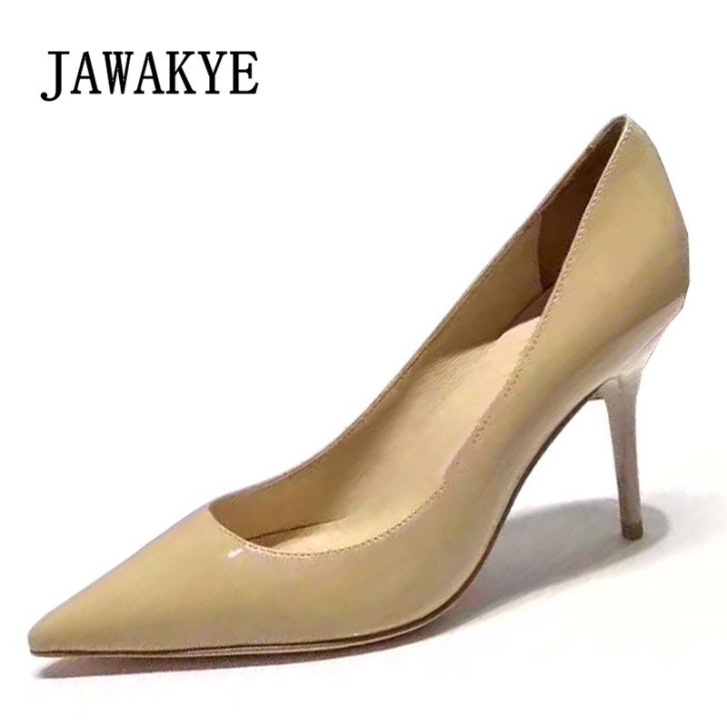 2019 Elegant High Heel Shoes Women Pointed Toe 8.5cm heel Stiletto Woman Sexy Party Shoes2019 Elegant High Heel Shoes Women Pointed Toe 8.5cm heel Stiletto Woman Sexy Party Shoes