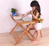 70*41 * (54 73) см, высота регулируемый дети учатся стол складной Bamboo письменный стол обучение студентов стол со стулом