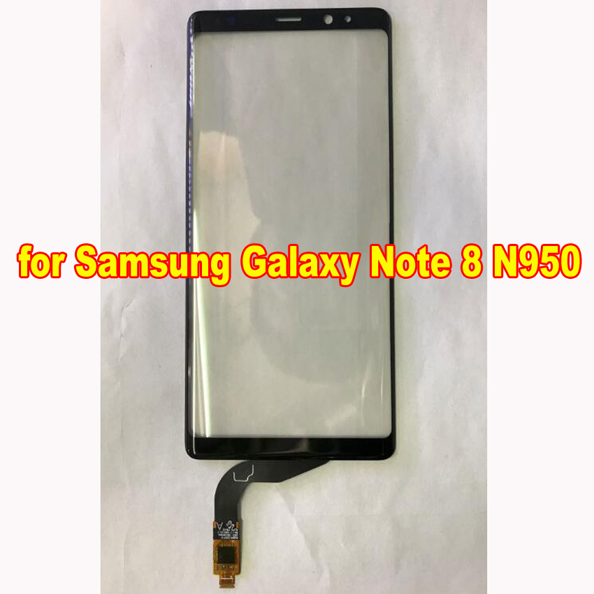 High Quality Outer Glass Lens Touch Screen Digitizer for Samsung Galaxy Note 8 N950 Note8 With flex cable Replacement parts