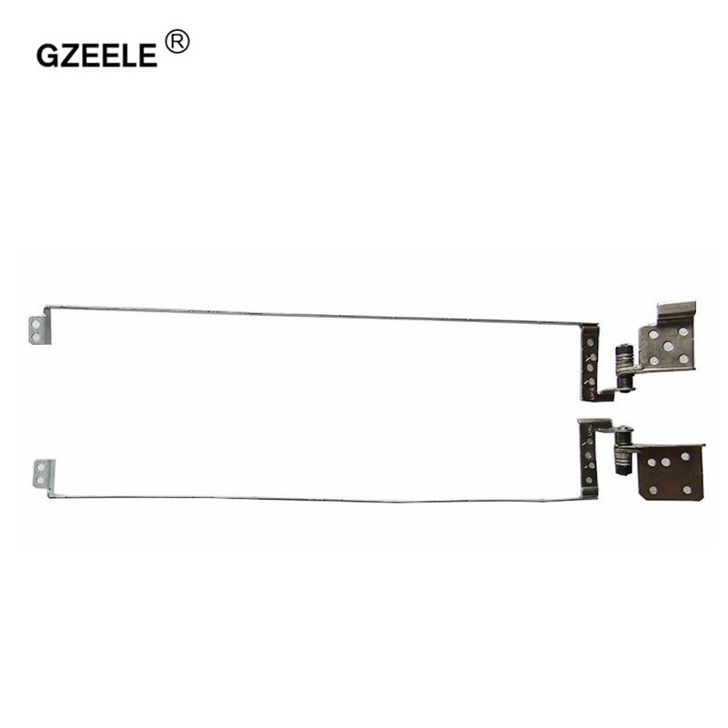 GZEELE New Laptop LCD Dobradiças para Toshiba Satellite C870 C870D C875 C875D L870 L875 S875 S870 L870D 17.3 ''PN h00037550 H00037560